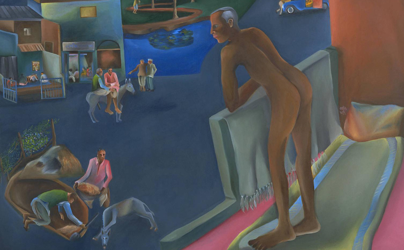 You Can't Please All 1981 by Bhupen Khakhar 1934-2003
